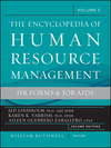 The Encyclopedia of Human Resource Management, Volume 2: HR Forms and Job Aids (0470257725) cover image