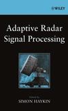 Adaptive Radar Signal Processing (0471735825) cover image