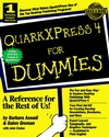 QuarkXPress 4 For Dummies (0764502425) cover image