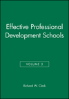 Effective Professional Development Schools, Volume 3 (0787945625) cover image