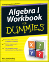 Algebra I Workbook For Dummies, 2nd Edition (1118049225) cover image