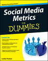 Social Media Metrics For Dummies (1118236025) cover image