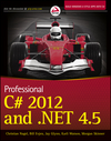 Professional C# 2012 and .NET 4.5 (1118314425) cover image