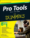 Pro Tools All-in-One For Dummies, 3rd Edition (1118330625) cover image