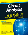 Circuit Analysis For Dummies (1118493125) cover image