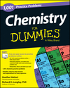 Chemistry: 1,001 Practice Problems For Dummies (+ Free Online Practice) (1118549325) cover image