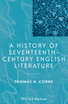 A History of Seventeenth-Century English Literature (1118652525) cover image