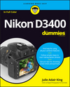 Nikon D3400 For Dummies (1119336325) cover image