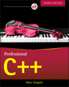 Professional C++, 4th Edition (1119421225) cover image