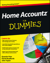 Home Accountz For Dummies (1119968925) cover image