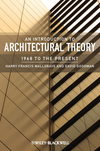 An Introduction to Architectural Theory: 1968 to the Present (1405180625) cover image