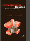Semiconductor Devices: Physics and Technology, 3rd Edition (EHEP001825) cover image