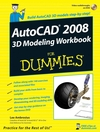 AutoCAD 2008 3D Modeling Workbook For Dummies (0470184426) cover image