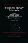 Business Survey Methods  (0471598526) cover image