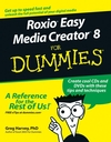 Roxio Easy Media Creator 8 For Dummies (0471793426) cover image