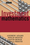 Investment Mathematics (0471998826) cover image