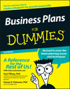 Business Plans For Dummies, 2nd Edition (0764576526) cover image