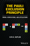 thumbnail image: The Pauli Exclusion Principle: Origin, Verifications, and Applications