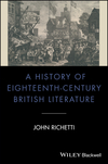 A History of Eighteenth-Century British Literature (1405135026) cover image