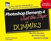 Photoshop Elements 4 Just the Steps For Dummies (0470040327) cover image