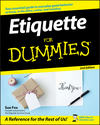 Etiquette For Dummies, 2nd Edition (0470106727) cover image