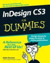 InDesign CS3 For Dummies (0470168927) cover image