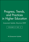 Assessment Update: Progress, Trends, and Practices in Higher Education, Volume 21, Number 3, 2009 (0470540427) cover image