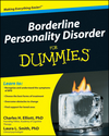 Borderline Personality Disorder For Dummies (0470550627) cover image
