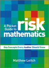A Pocket Guide to Risk Mathematics: Key Concepts Every Auditor Should Know (0470710527) cover image