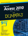 Access 2010 All-in-One For Dummies (0470770627) cover image