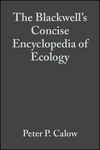 The Blackwell's Concise Encyclopedia of Ecology, 11th Edition (0632048727) cover image