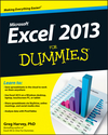 Excel 2013 For Dummies (1118510127) cover image