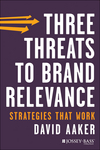 Three Threats to Brand Relevance: Strategies That Work (1118658027) cover image