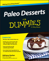 Paleo Desserts For Dummies (1119022827) cover image