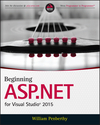 Beginning ASP.NET for Visual Studio 2015 (1119077427) cover image