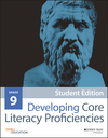 Developing Core Literacy Proficiencies, Grade 9, Student Edition (1119192927) cover image