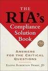 The RIA's Compliance Solution Book: Answers for the Critical Questions (1576601927) cover image