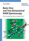 thumbnail image: Basic One- and Two-Dimensional NMR Spectroscopy