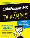 ColdFusion® MX For Dummies® (0764516728) cover image
