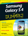 Samsung Galaxy S 4 For Dummies (1118642228) cover image