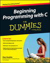 Beginning Programming with C For Dummies (1118737628) cover image