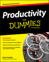 Productivity For Dummies (1119099528) cover image