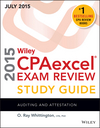 Wiley CPAexcel Exam Review 2015 Study Guide July: Auditing and Attestation (1119119928) cover image