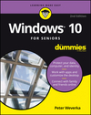 Windows 10 For Seniors For Dummies, 2nd Edition (1119310628) cover image