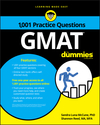 1,001 GMAT Practice Questions For Dummies (1119363128) cover image
