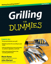 Grilling For Dummies (0470504129) cover image