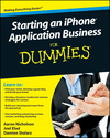 Starting an iPhone Application Business For Dummies (0470524529) cover image