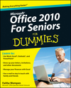 Office 2010 For Seniors For Dummies (0470583029) cover image