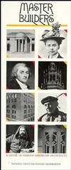 Master Builders: A Guide to Famous American Architects (0471144029) cover image