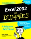 Excel 2002 For Dummies  (0764508229) cover image